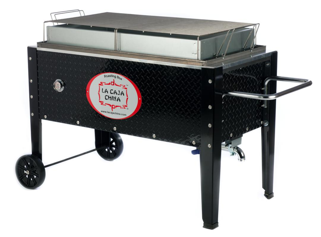 Žar na oglje La Caja China Roasting Box SP-300DP, črn